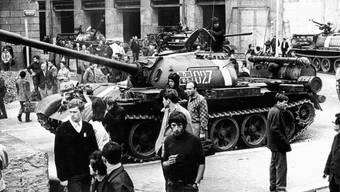 Am 21. August 1968 machten die Panzer des Warschauer Paktes dem «Prager Frühling» ein Ende.