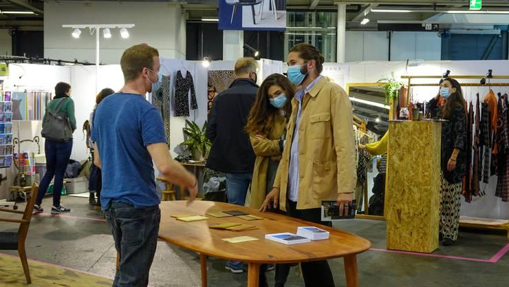 Die Designmesse fand am vergangenen Wochenende in Basel statt.