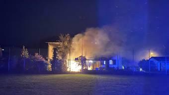 Brandfall in Pratteln
