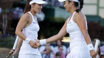 Für Martina Hingis und Chan Yung-Jan ist im Viertelfinal Schluss