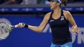 Belinda Bencic mühte sich gegen Samantha Stosur ab