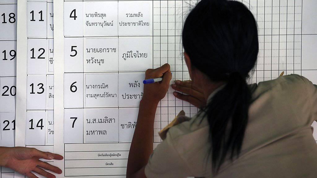 Zu den Parlamentswahlen in Thailand vom Sonntag liegt noch immer kein Endergebnis vor. (Archivbild)