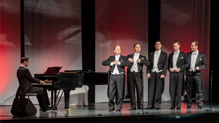Zwei Stunden beste Unterhaltung mit den Berlin Comedian Harmonists.