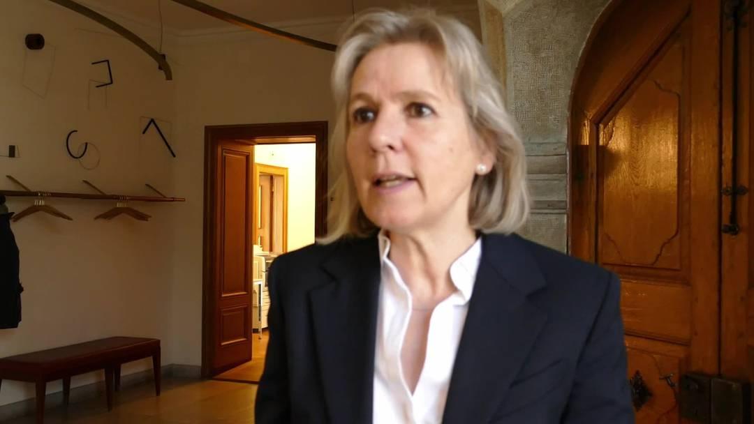 Volkswirtschaftsdirektorin Brigit Wyss: «Rund ein Drittel der Solothurner Arbeitnehmenden ist von Kurzarbeit betroffen»