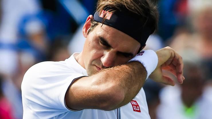 Roger Federer ist derzeit weit von seiner Bestform entfernt.