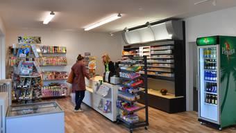 Mit dem Kiosk ist der Buechehof jetzt auch im Dorfzentrum präsent.