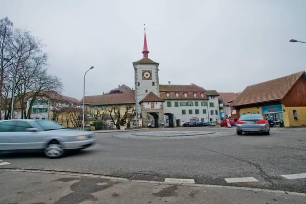 Der Lindenplatz ist das Bindeglied zwischen Altstadt und Neubaugebiet