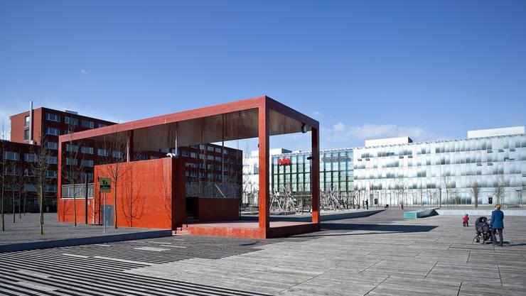Das neue städtische Verwaltungszentrum wird im Laufe der kommenden zwei Jahre in Neu-Oerlikon entstehen.