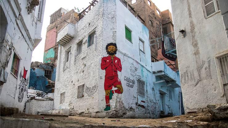 Der «Pharao» Mohamed Salah ist in Ägypten allgegenwärtig – auf und neben dem Platz.