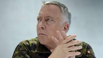 Die Substanz zur Verteidigung wurde zum falschen Zeitpunkt verringert, findet Armeechef André Blattmann.