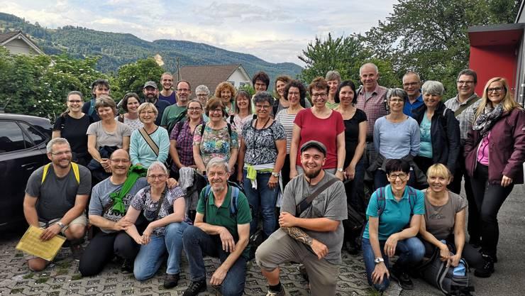 Teilnehmer des Botanik-Grundkurses 2019