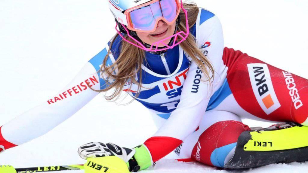 Für Charlotte Chable ist die Ski-Saison 2016/17 vorzeitig zu Ende