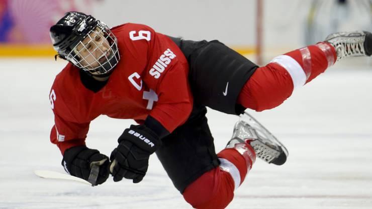 Julia Marty kehrt ins Fraueneishockey zurück