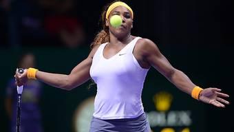 Serena Williams: Drei Spiele, drei Siege.