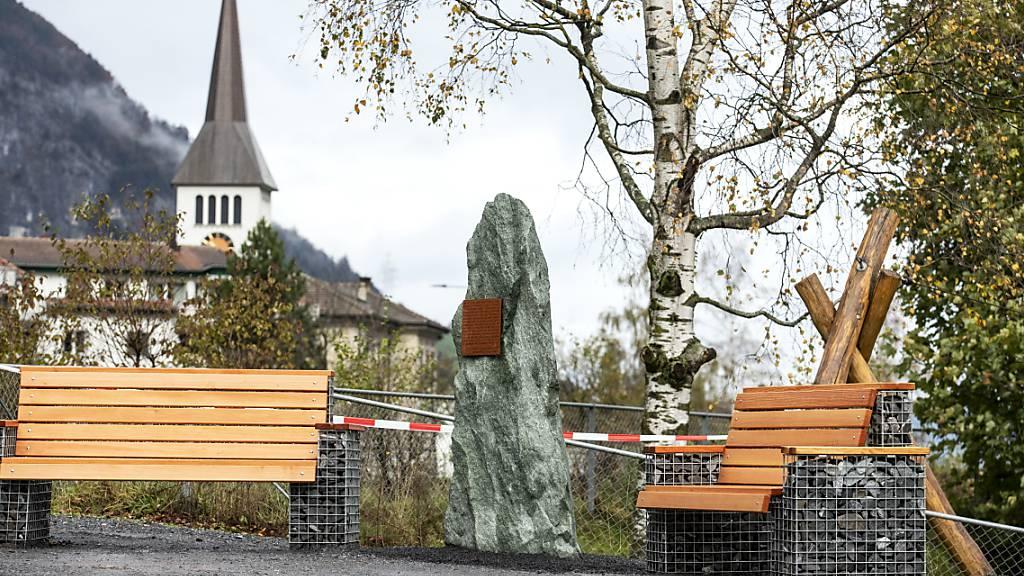 Denkmal für Opfer fürsorgerischer Zwangsmassnahmen eingeweiht