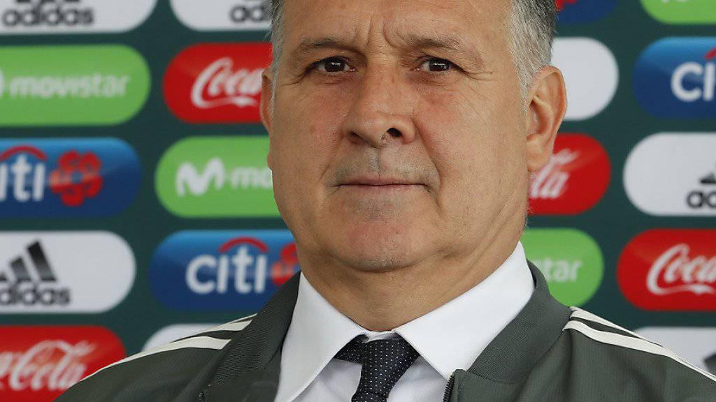 Gerardo Martino ist neuer mexikanischer Nationaltrainer