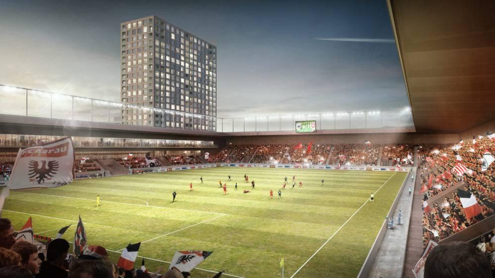Bis zum Baubeginn des neuen Stadions soll das Areal Torfeld Süd temporär genutzt werden.