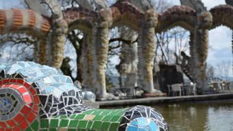Es will keine Ruhe einkehren im Skulpturenpark oberhalb von Dietikon.
