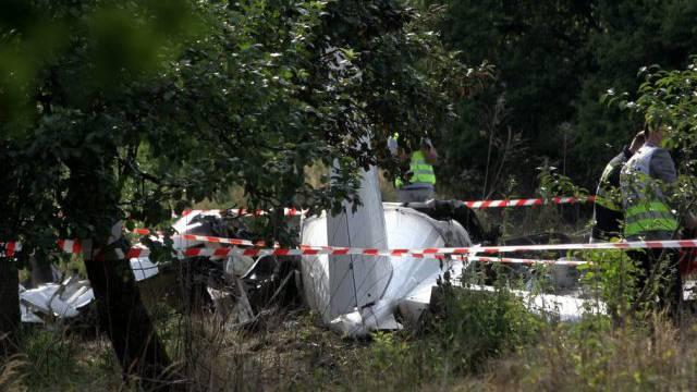 Elf Menschen kamen beim Absturz in Polen ums Leben