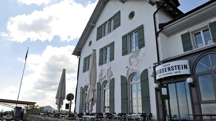Beliebtes Ausflugsziel: Das Kurhaus Weissenstein.