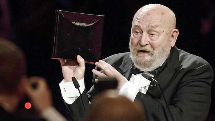 Hatte seiner Heimat Thüringen und Sachsen in der DDR nie den Rücken gekehrt: Rolf Hoppe (in einer Aufnahme vom Februar 2017).