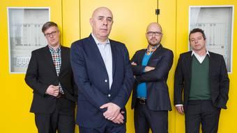 Seit den 1980er-Jahren mischen die vier gestandenen Rocker in der Basler Musikszene mit.