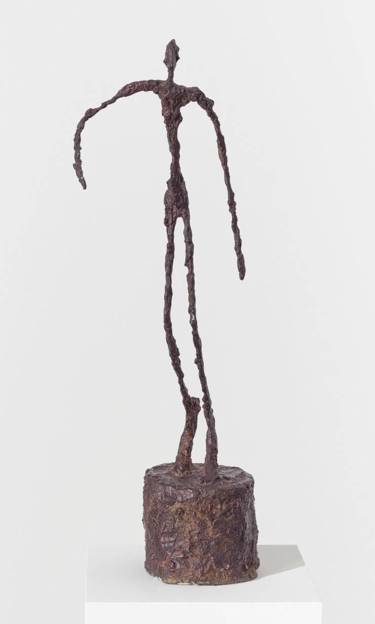 Auch er wird ausgeliehen: «Homme qui chavire» von Giacometti.