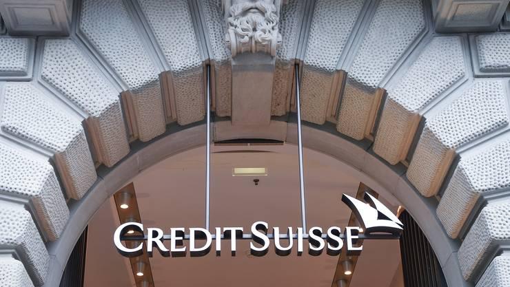 Empfängt positive Signale aus der Wirtschaft: Die Credit Suisse in Zürich.