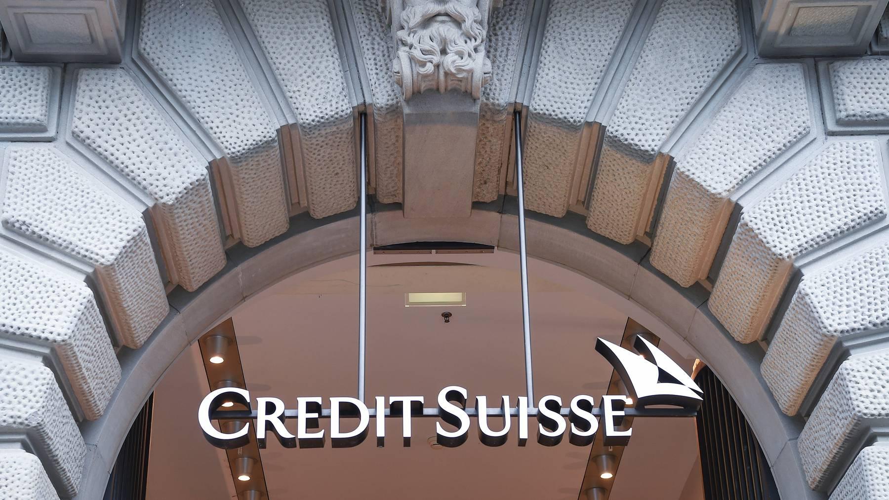 Die Credit Suisse will ihr Geld zurück.