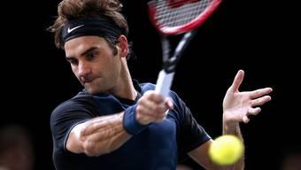 Roger Federer scheitert in Paris-Bercy an John Isner