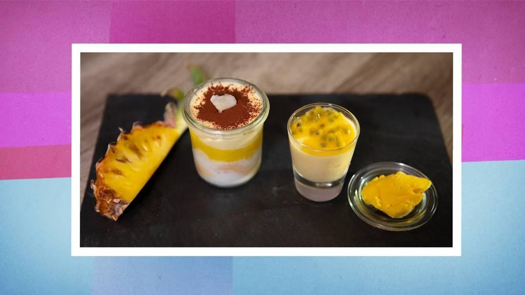 Kokos-Ananas-Tiramisu