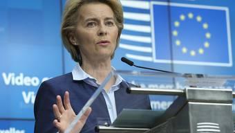 Die EU-Kommissionspräsidentin Ursula von der Leyen will die EU krisenfester machen. (Archivbild)