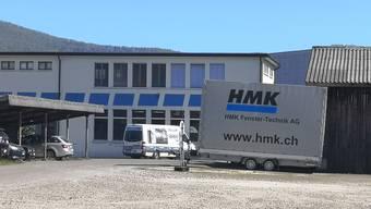 Existiert nicht mehr in dieser Form: Das Gebäude der HMK Fenster-Technik AG in Aarau.
