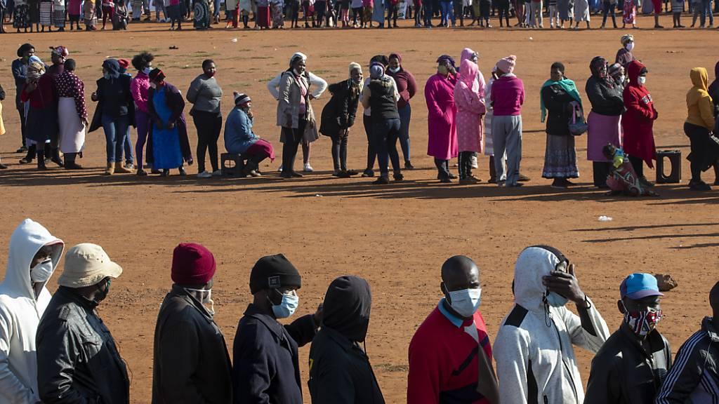 WHO: Mehr als 100'000 Corona-Fälle in Afrika