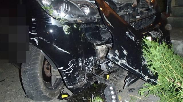 Der Unfall ereignete sich gegen vier Uhr morgens.