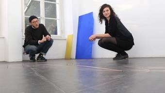 Franziska Baumgartner und Florian Bürki haben im «S11» ein stimmiges Gemeinschaftswerk geschaffen.