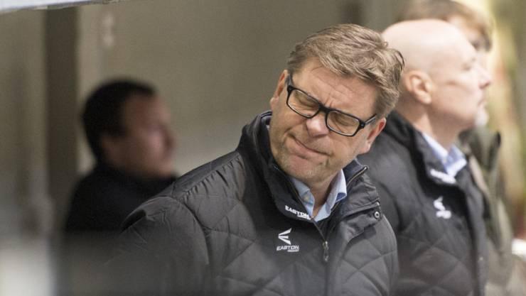 Oltens Coach Heikki Leime konnte zuletzt seiner Mannschaft fast nicht mehr zusehen. Jetzt wurde er beim EHC Olten entlassen.