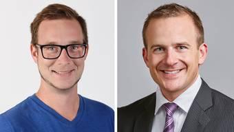 Michael Frauchiger (links) und Silvan Amberg sind die Co-Präsidenten des Komitees «Sonderrechte Nein». (Bilder: PD)