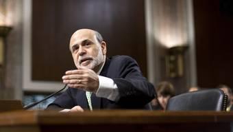 US-Notenbankchef Ben Bernanke spricht vor dem US-Kongress