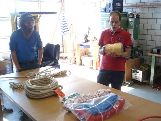 Guido Herzog erklärt alles Rund um das Seil