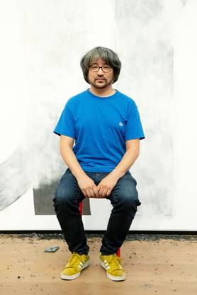 Der japanische Künstler Taro Izumi.