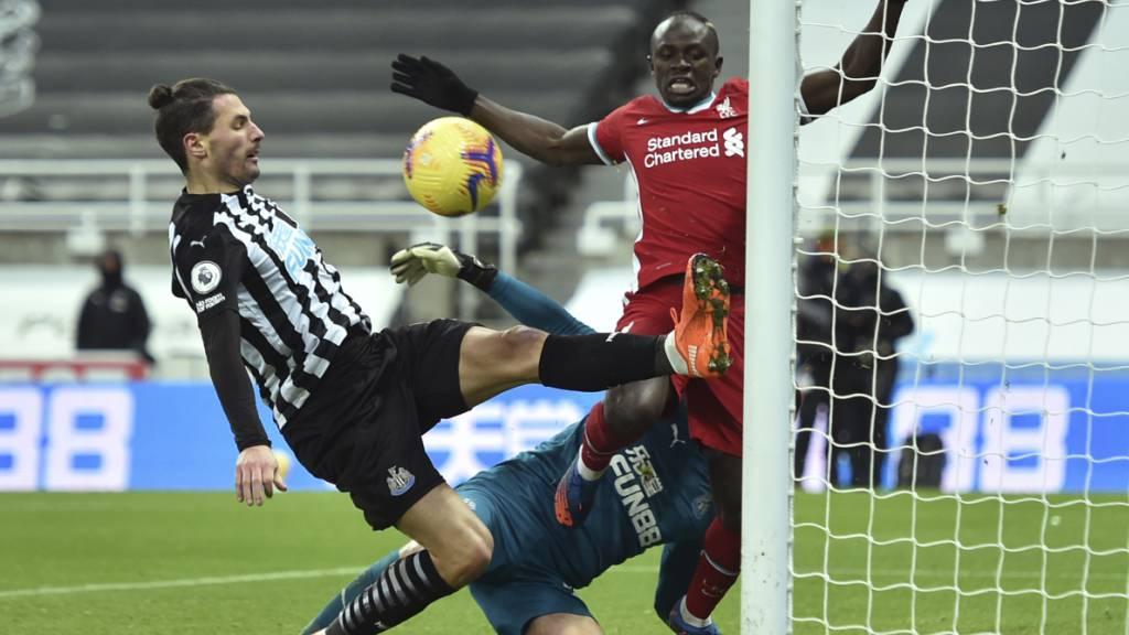Newcastle trotz Liverpool ein Remis ab