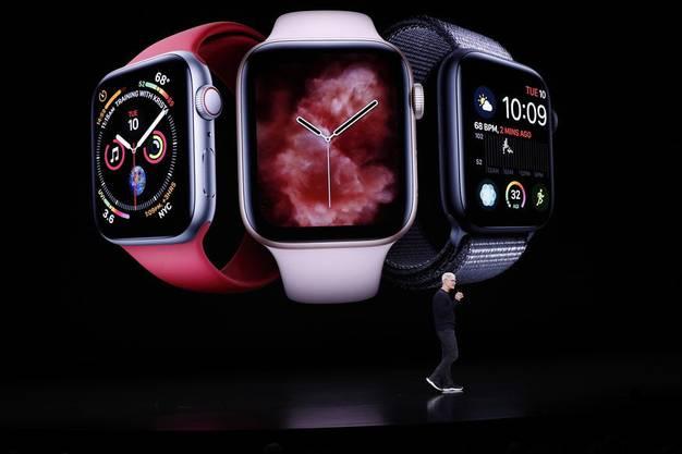 Der Always-on-Bildschirm gehört zu den unerwarteten Neuerungen der Apple Watch Series 5.