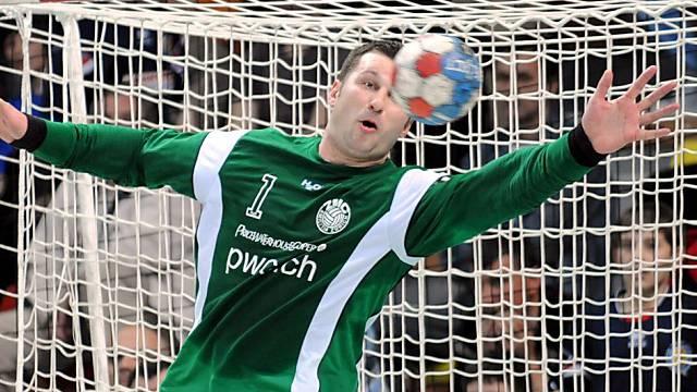 Kadetten-Goali Arunas Vaskevicius glänzte mit 20 Paraden