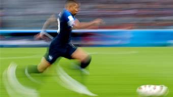 Die Qualitäten einer Turniermannschaft. Frankreich ist Favorit auf den WM-Titel. Im Bild: Jungstar Kylian Mbappé.