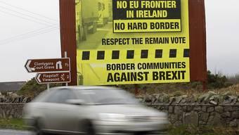 Irland droht bei hartem Brexit laut Studie Wohlstandsverlust. (Archiv)