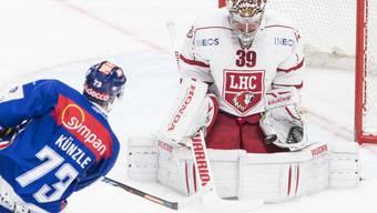 Cristobal Huet bleibt eine weitere Saison Goalie von Lausanne
