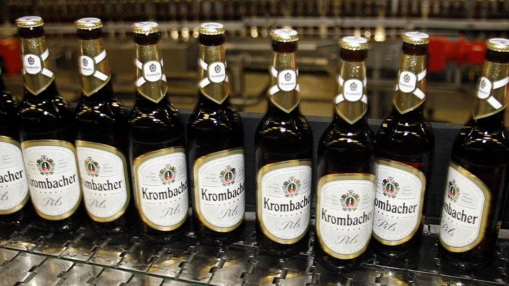 Der Supersommer 2018 hat Deutschlands grösster Privatbrauerei Krombacher ein kräftiges Wachstum beschert. (Archiv)