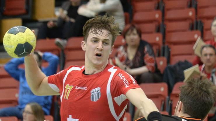 Roman Sidorowicz und Pfadi Winterthur starten erfolgreich in die Playoffs (Archiv)