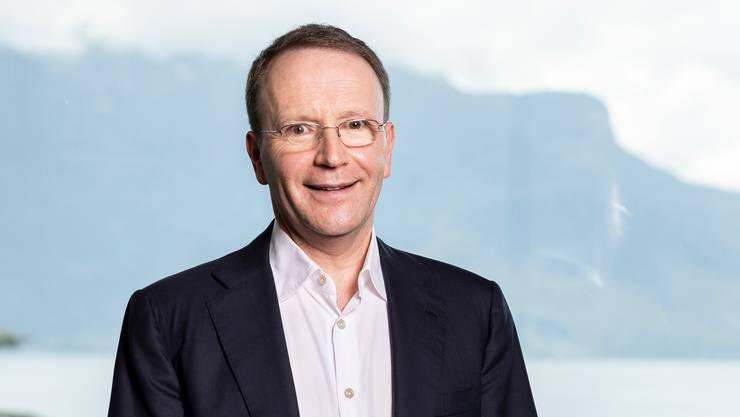 Mark Schneider, der CEO von Nestlé, zeigt sich zufrieden mit den Geschäftszahlen des dritten Quartals.